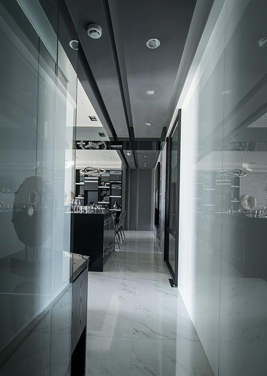 奢华风格走廊图片
