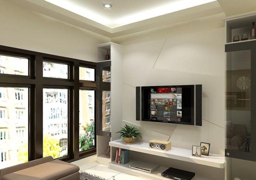 钢筋混泥土取镜面反射延伸之效铺陈全室赋予居家