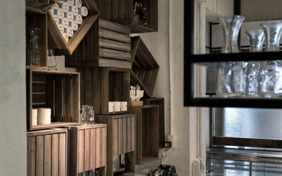 工业风格木箱收纳设计效果图