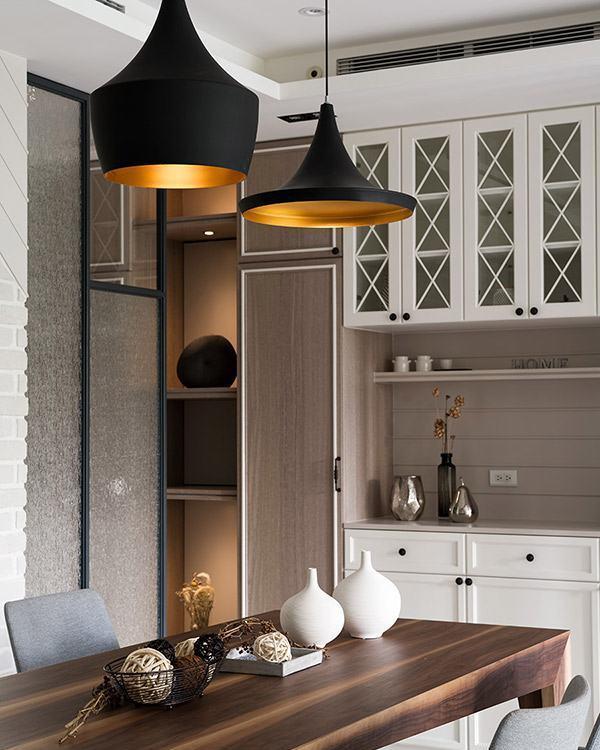 美式风格造型灯具设计图片
