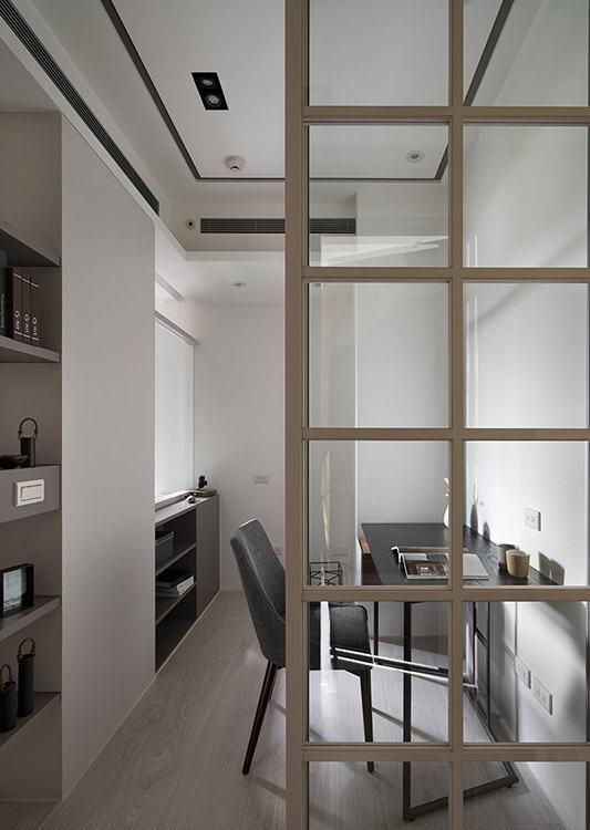 美式风格书房设计图片