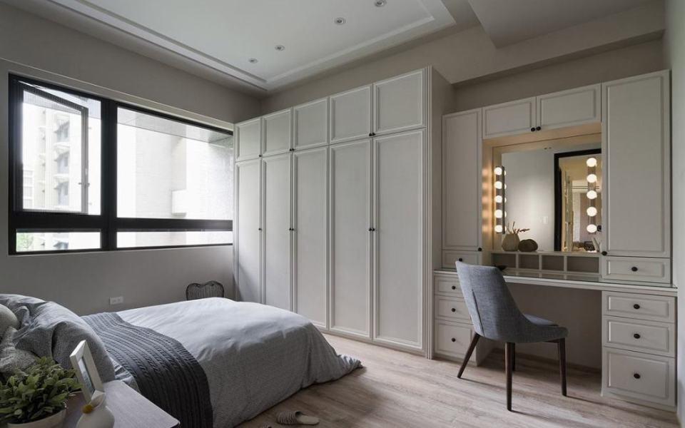 美式风格主卧室设计图片