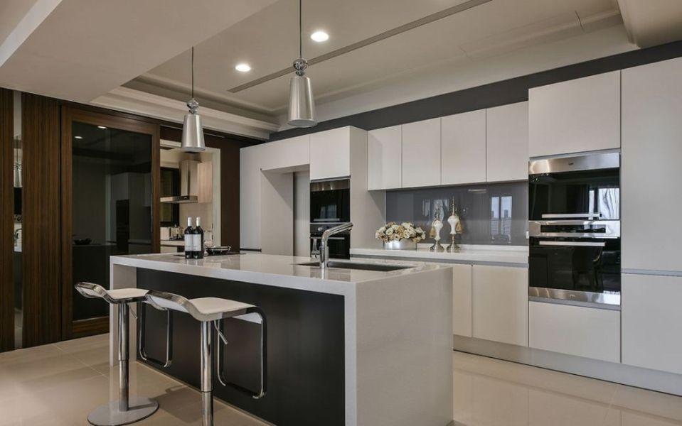 奢华风格厨房装修图片