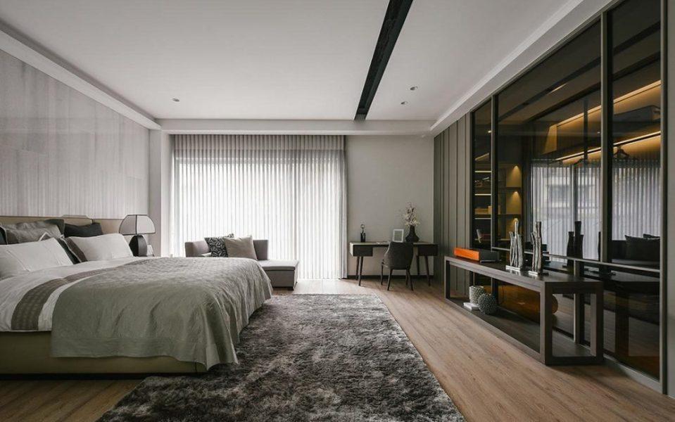 现代风格卧房A图