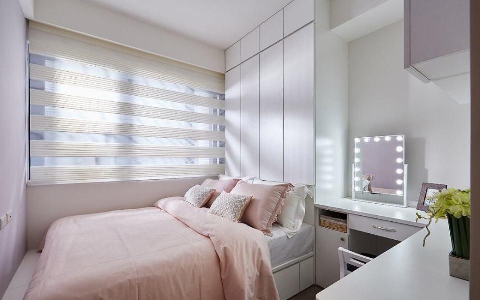 北欧风格次卧室效果图