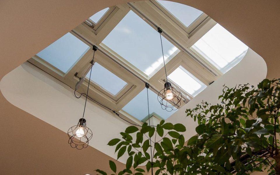 现代风格天井设计图片