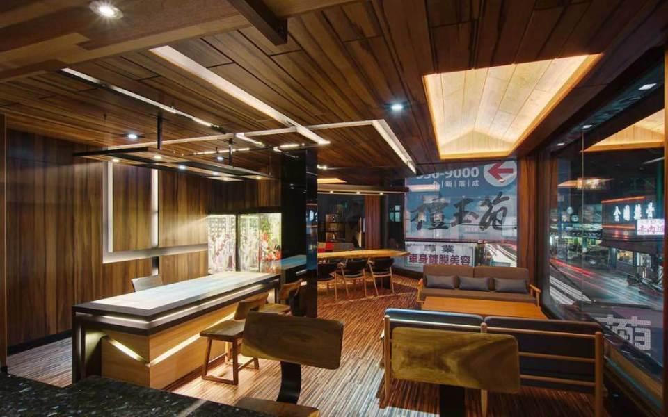 现代风格沙发休憩区装修图片