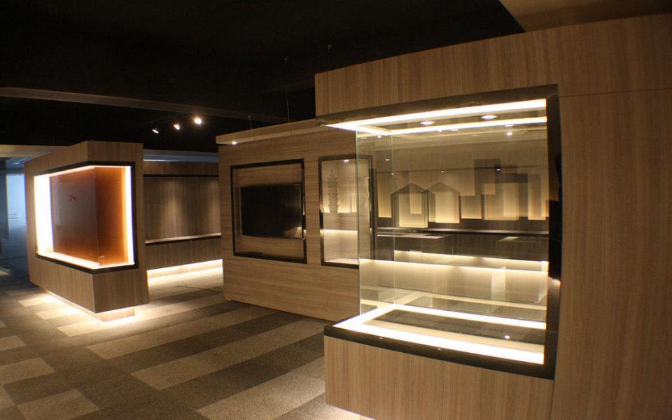 现代风格展示空间效果图