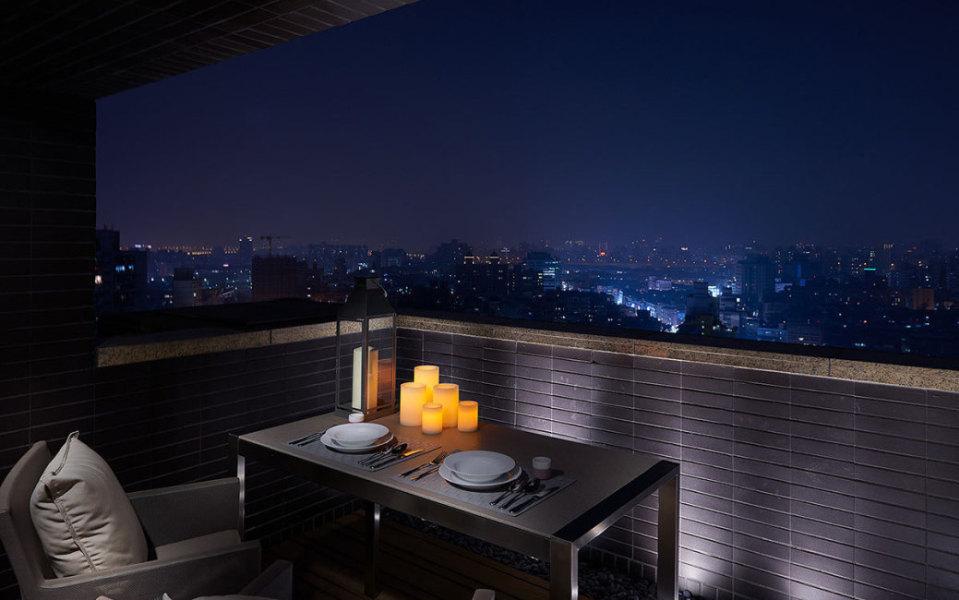 美式风格阳台设计效果图