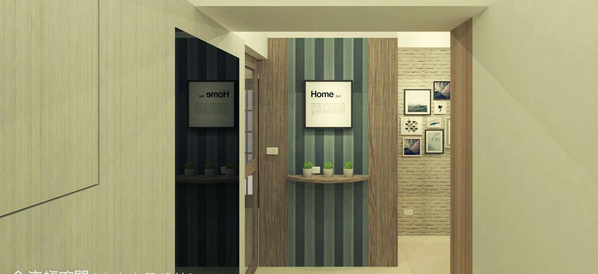 现代风格玄关区设计图片
