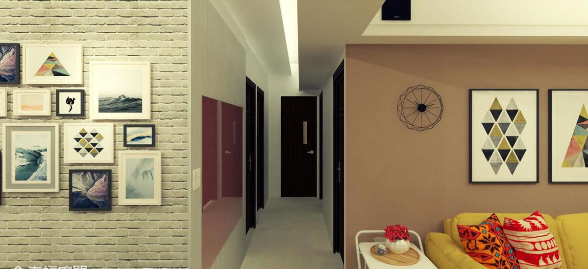 现代风格廊道设计设计图片