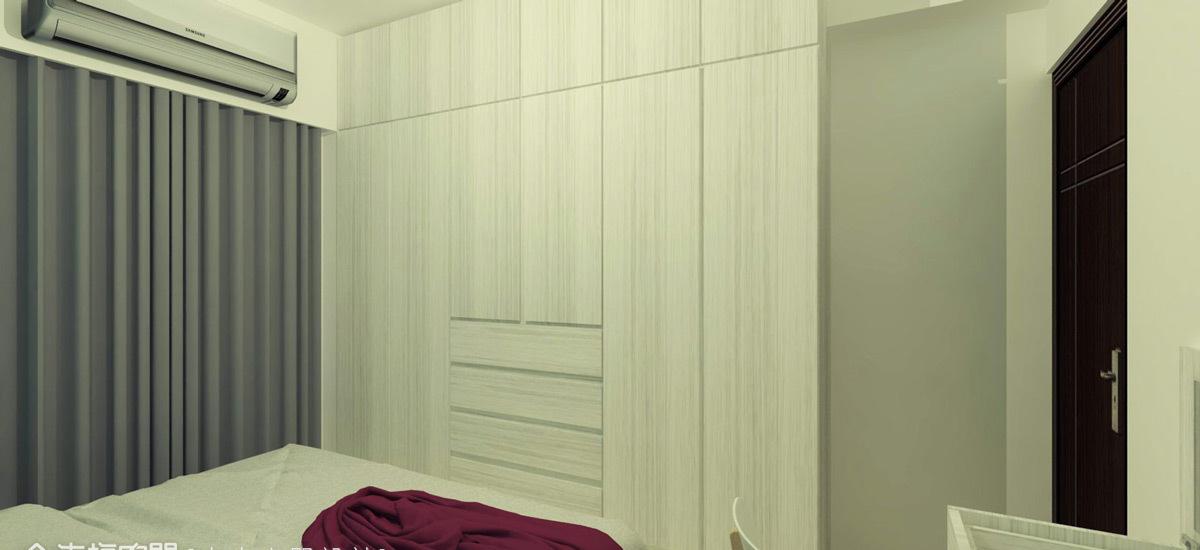 现代风格收纳衣柜设计图片