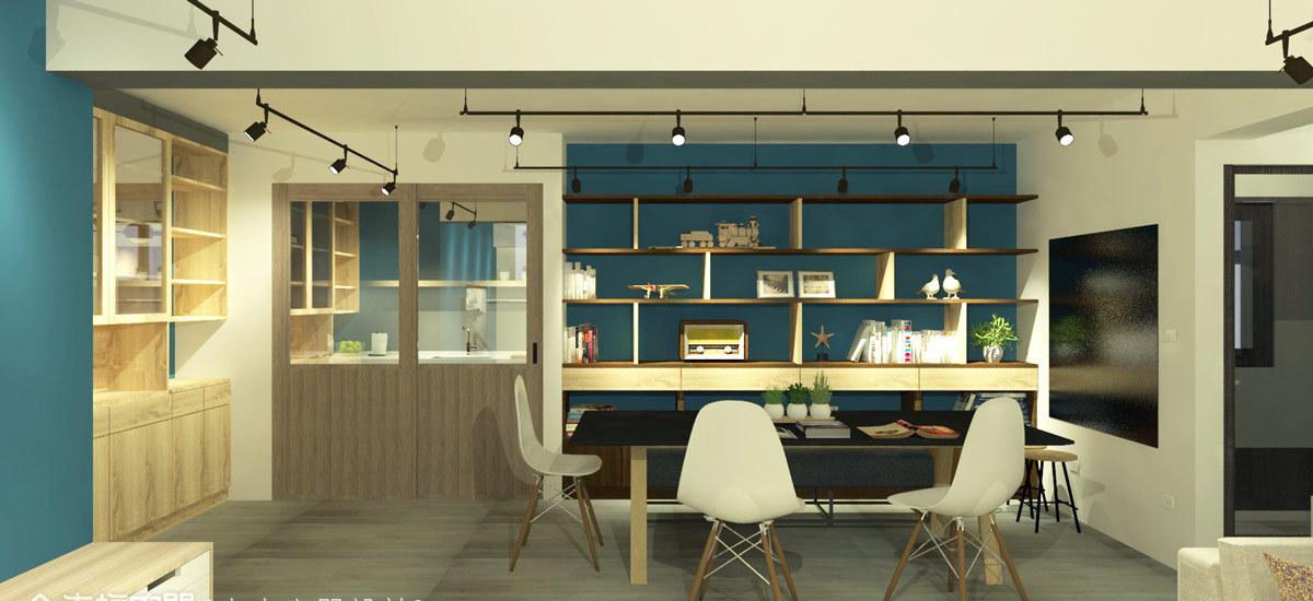 工业风格餐厅图片