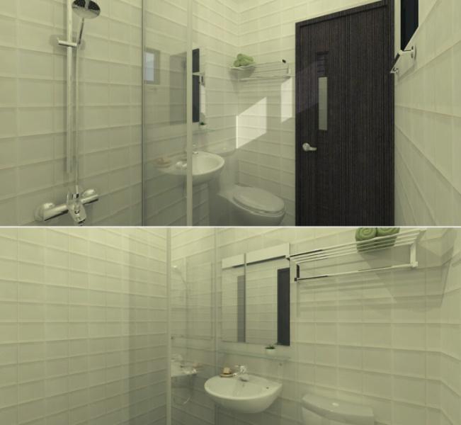 工业风格卫浴空间图片