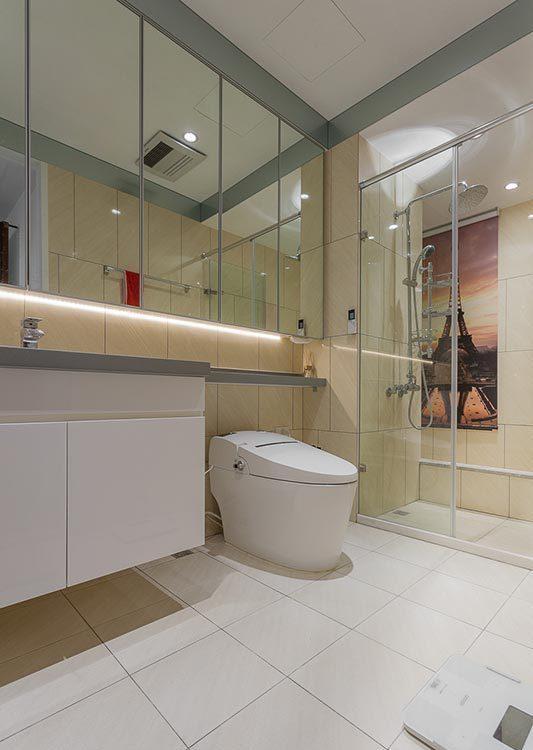 混搭风卫浴设计图片