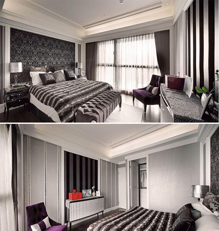 新古典主卧房装修效果图