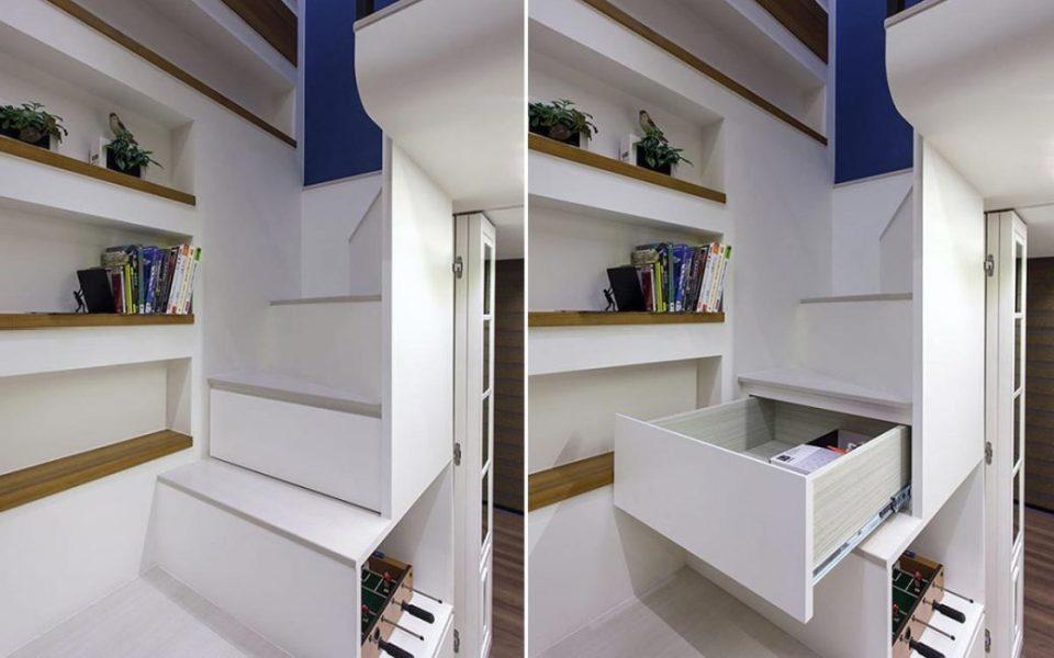 乡村风格楼梯设计图片