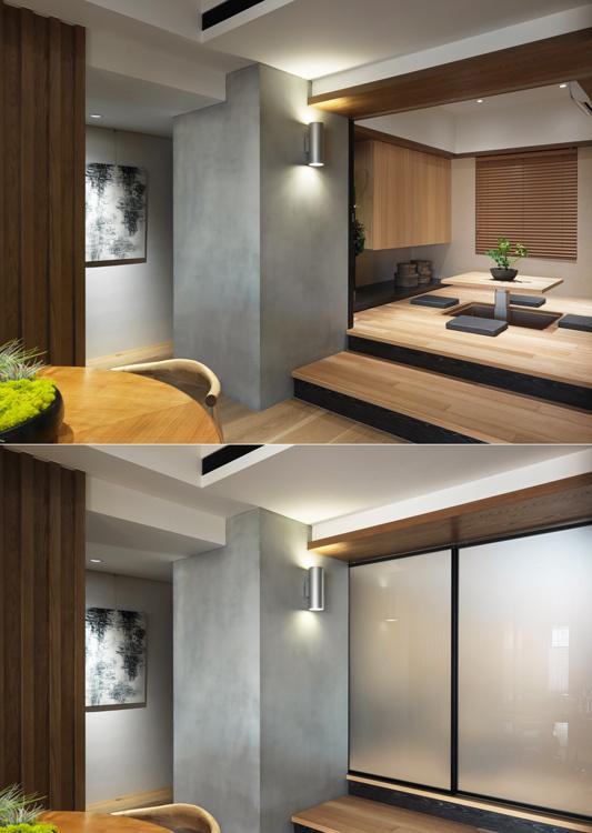 休闲多元和室设计效果图