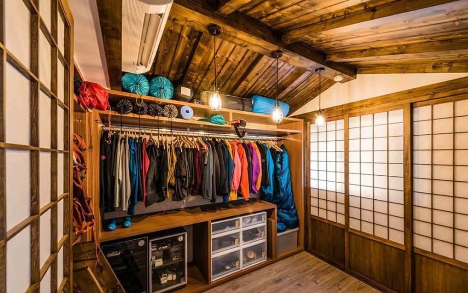 无印良品风格日式木屋图