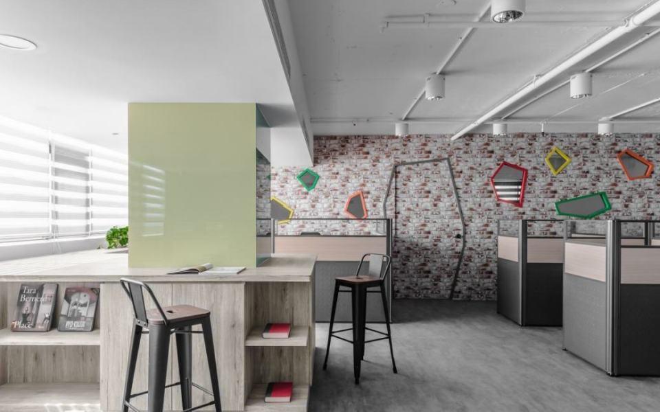 现代风格休憩区设计图片