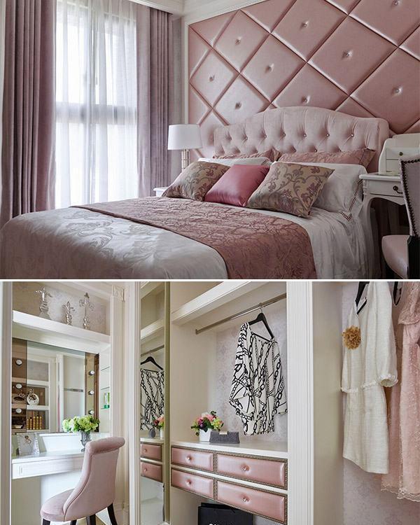 Art Deco奢华风格次卧室装修案例