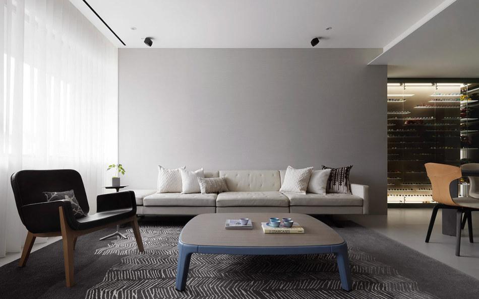 现代风格客厅装修图片