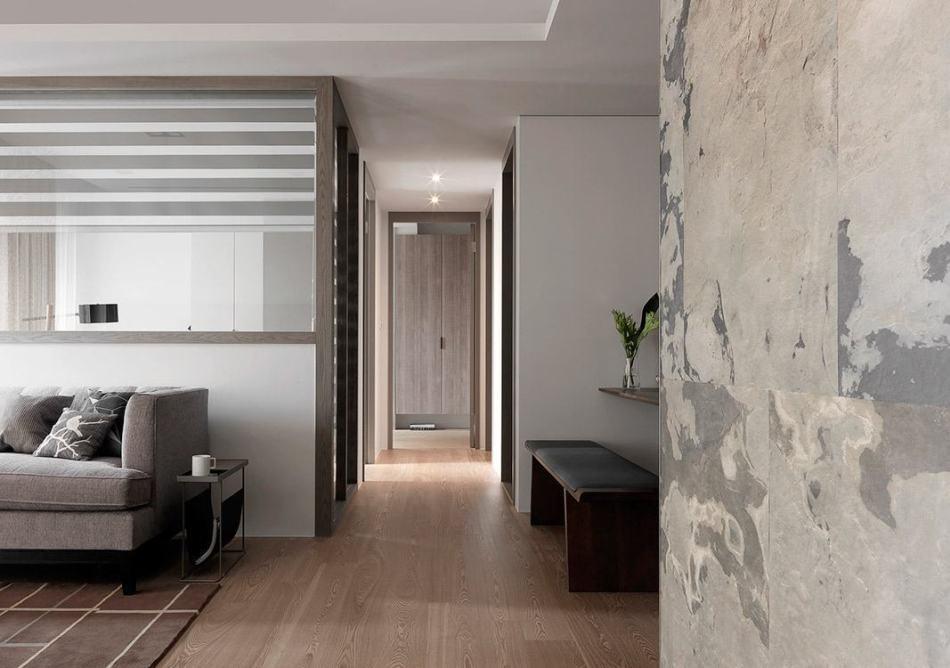 现代风格转折墙面装修效果图