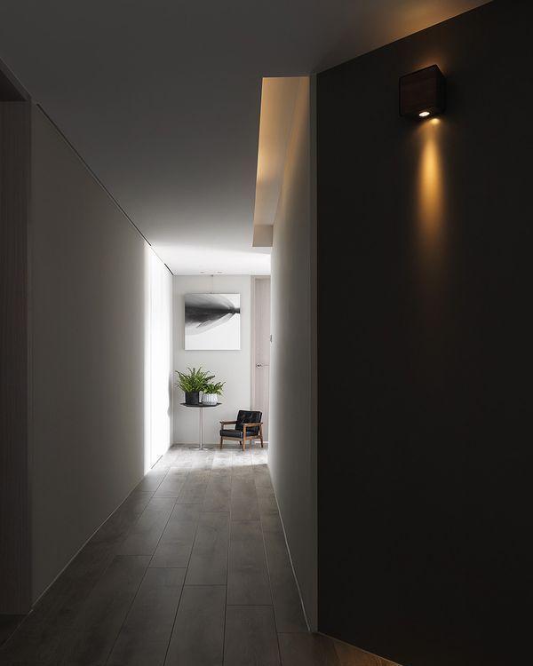 现代风格廊道装修案例
