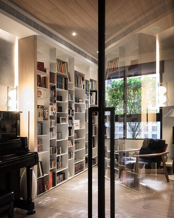 休闲多元书房图