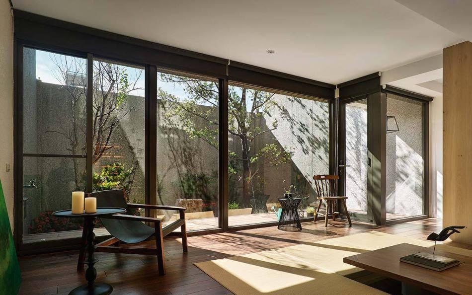 现代风格日式檐廊设计效果图