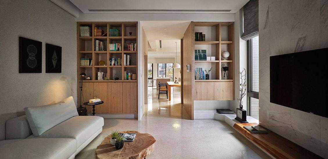 现代风格二楼客厅设计效果图