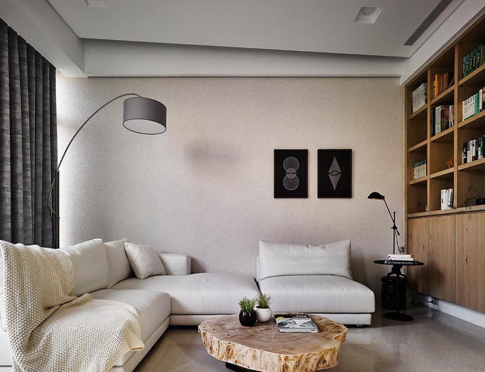现代风格沙发背墙设计效果图