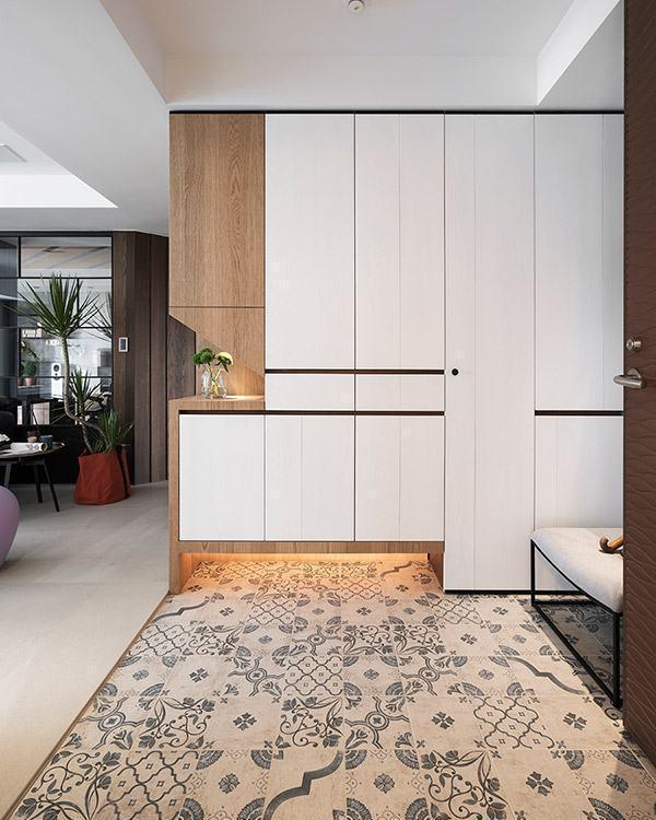 复古花砖系统「简约自然宁静温暖」是丰聚室