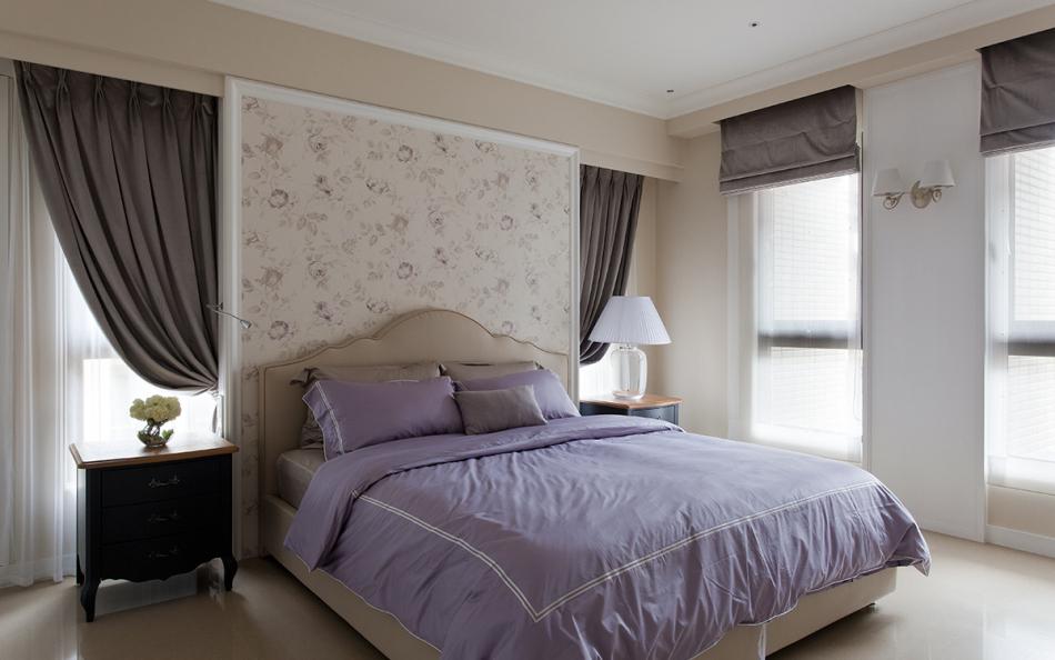 美式风格主卧室设计效果图