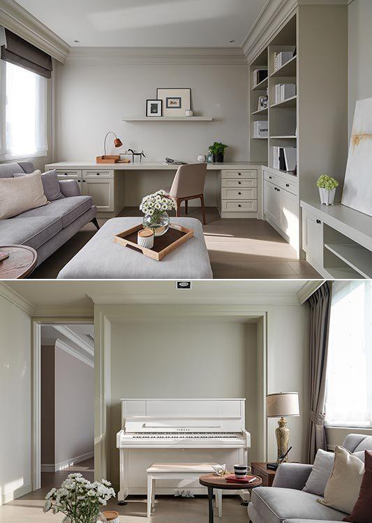 美式风格起居室图片