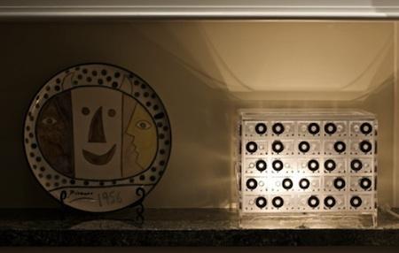 透明馆使用旧的磁带