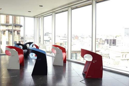 蓝果酱家具的椅子