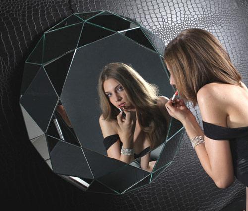 核桃的菱形镜
