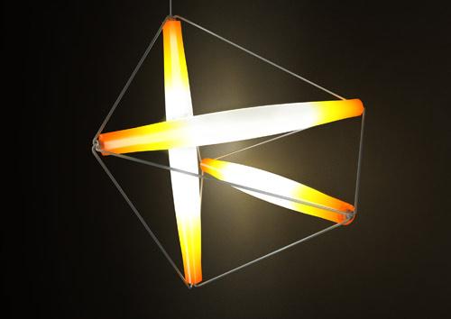 徽章照明装置散发
