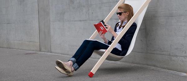 简略的椅子
