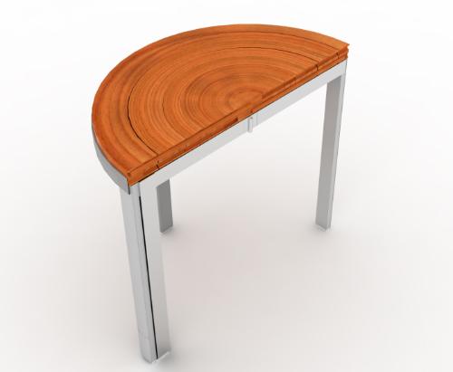木材和金属独特的表