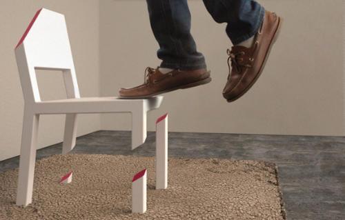 不完整的椅子