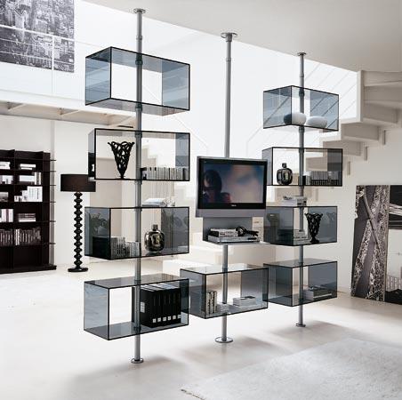 现代的电视柜