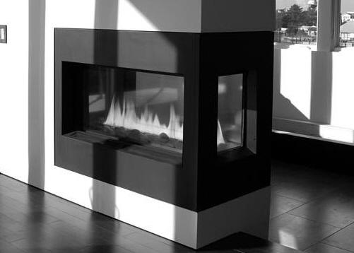 广元装修网|双面壁炉