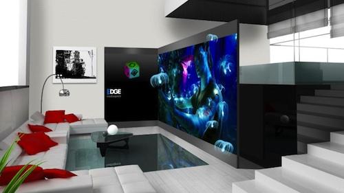 媒体空间带来3D家庭