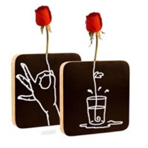 礼物 黑板花瓶
