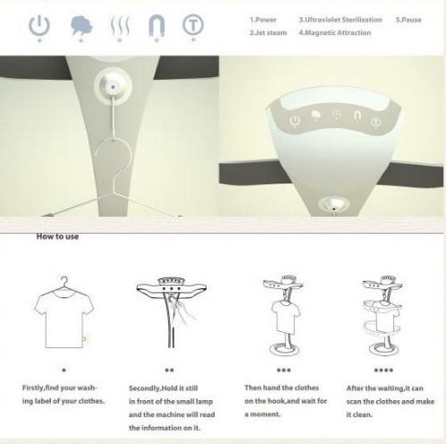 未来的便携式洗衣机