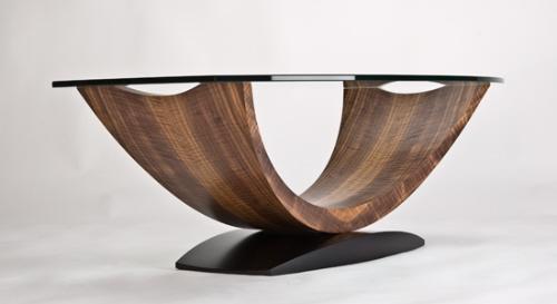 三个现代咖啡桌