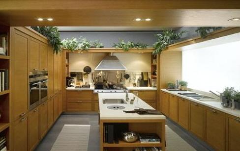 现代厨房的设计灵感