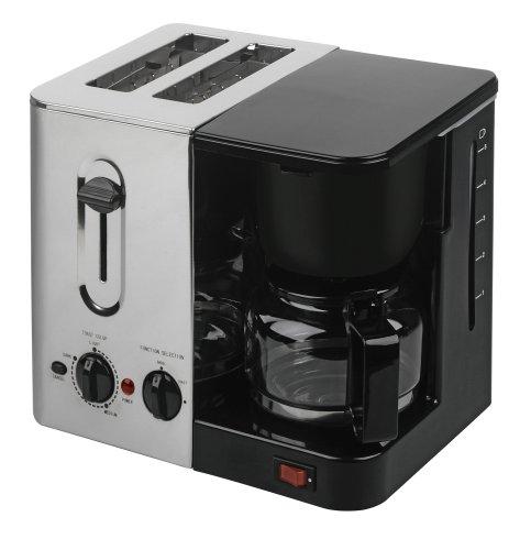 烤面包机咖啡壶早餐